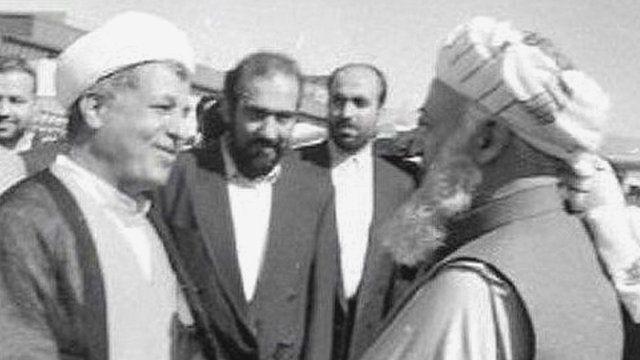 هاشمی رفسنجانی-برهان الدین ربانی